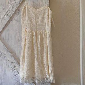 Beautiful cream/dress lace